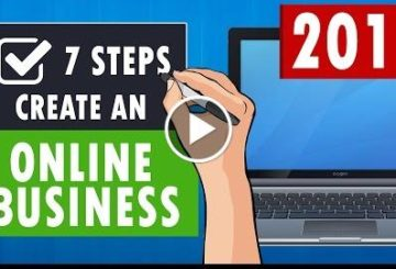7  to CREATE an Online business in 2017