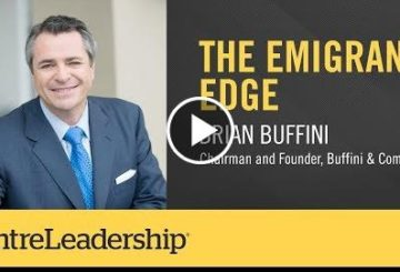The Emmmigration edge | Brian Buffini