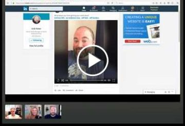 LinkedIN Updates, New FaceBook adulation and the New FaceBook design