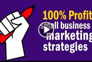 For-profit Marketed Strategy to Get 100% PROFIT
