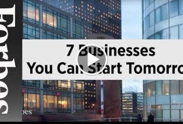 7 Businesses You Can startle Tomorrow | ForbesAutos