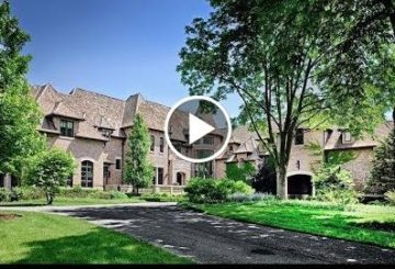 Palatial $16 Million 17,500 SQ FT 5 Bed 11 Bath Home on 8.5 Acres in Illinois USA