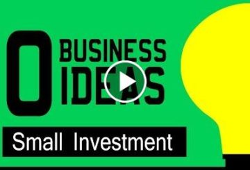 10 Business Ideas With Small Investment | On-line Business Ideas