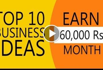10 Business Ideas To Earn 60,000 Rupee Per Month