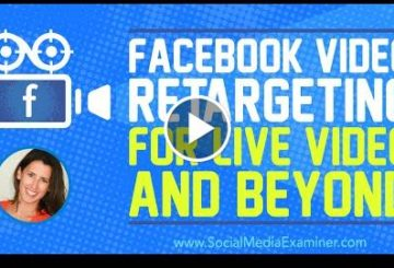 Facbook Video Retargeting for Live Video and Beyond