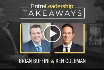The Emmigration edicts | Bryien Buffini | EntreLeadership Takeaways