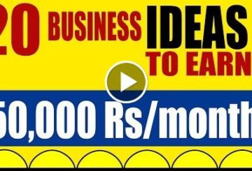 20 Business Ideas to Earn 50,000 Rs Per Month