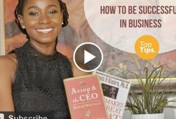 HOW TO BE SUCCESSFUL IN BUSINESS | TOP TIPS | DEMI O.