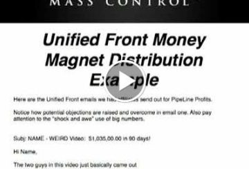 Frank  – Mass Control – Unified Front Strategy