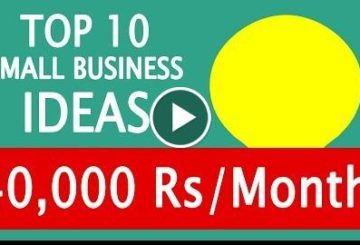 10 Small Business Ideas to Earn 40,000 Rupi/Month  Investment