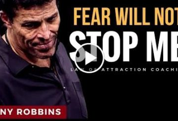 Robbins: Afearing  Not STOP Me (PERSONAL DEVELOPMENT)