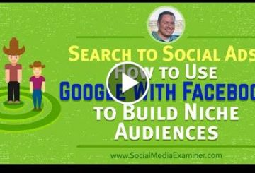 Search to Social Ads: How to Use Googl With ThefaceBook to Build Niche Audiences