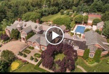 Exquisitely Detailed $30 Million 35,000 SQ FT 11 Bed 18 Bath Home on 8 Acres in New Jersey USA