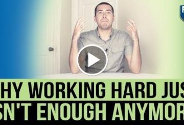 Why  Hard Just Isn't Enough AnyMORE