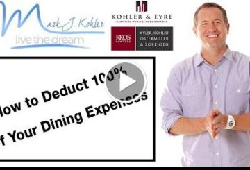 How to deduction 100% of Youns Feeding Expenses |  J Kohler | Tax & Lawfully Tip