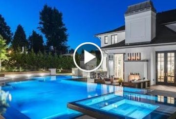 Ultra-Exclusive $35 Million 11,000 SQ FT 6 Bed 10 Bath Home in Vancouver B.C. Canada