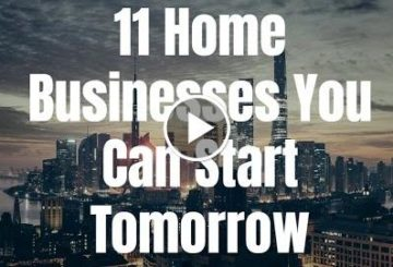 11 home Businesses You Can starting point Tomorrow