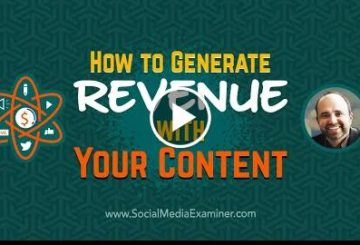 How to Generate Revenue With Your Content