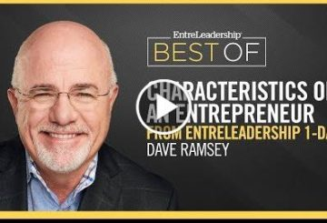 The Characteristics of an Entrepreneur   DAVE Ramsey   EntreLeadership Best Of