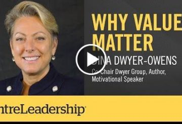 Why Values Matter |  Odwyer Owens | EntreLeadership