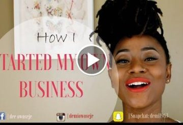 HOW I STARTED MY OWN BUSINESS | TIPS TO GET YOU GOING