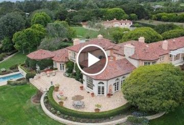 Sprawling $20 Million 7 Bed 11 Bath French Country Home on 13 Acres in Santa Barbara California  USA