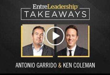 The Most Critical Skill for Increasing Sales |  Garrido | EntreLeadership Takeaway