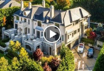 Stunning $35 Million 12,600 S.Q F.T 6 Bedroom 8 Bathroom Home in Vancouver B.C. Canada