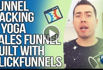 FUNNEL HACKING A YOGA SALES FUNNEL BUILT WITH CLICKFUNNELS