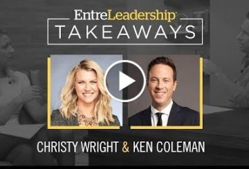 Communicating With Intention | Christy  | EntreLeadership Takeaways