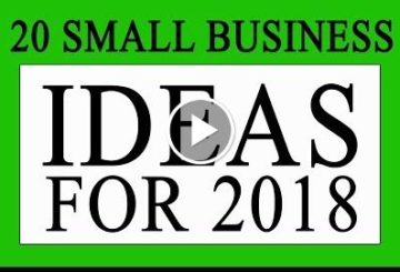20 Small Business Ideas for 2018 in INDIA | New Years  2018