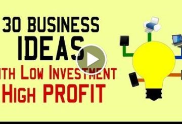 30 Small Business Idea WITH Low  & Highly PROFIT