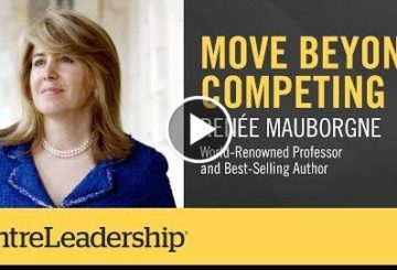 Move Beyond Competing | Renee Mauborgne | EntreLeadership