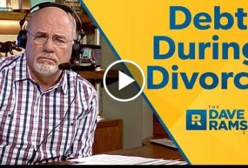 Dealing With Debt During a Divorce