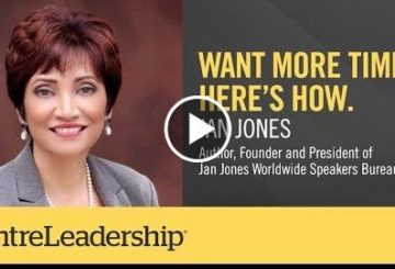 Want More Time? Here's How. | Jan  |  EntreLeadership