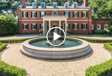 Historic $5 Million 9,700 SQ FT 3 Level 6 Bed 6 Bath Home in Georgia USA