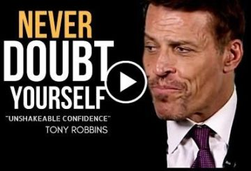 Tonie Robbins: Never Self-doubt Thyself (One of the most  Talked Ever)