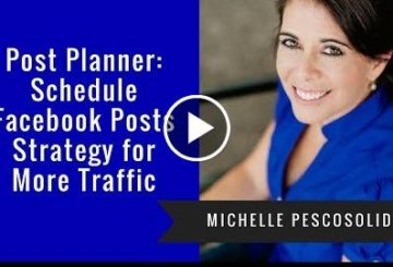 POSTing : Schedule Facebook POSTings Strategy for More Traffic