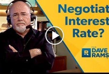 How To Negociate a  Lends  Rate