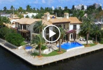 Elegant & Sophisticated $30 Million 16,000 SQ. FT 6 Bed 7 Bath Waterfront Home in Florida USA