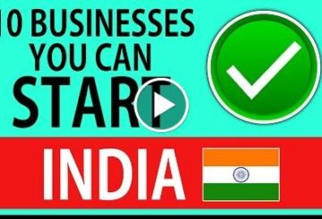 10 BUSINESSES You Can START in INDIA