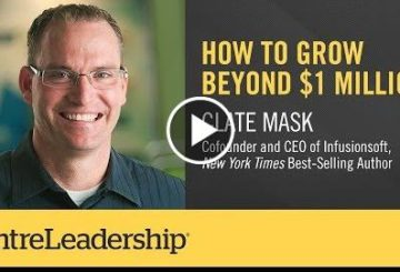 How to Grow Over $1 Million | Clate Masked | EntreLeadership