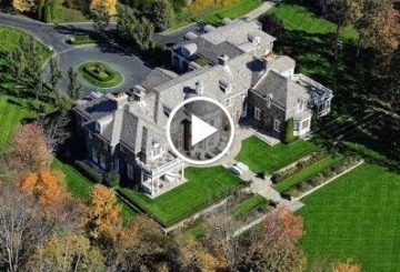 Impressive $27 Million 19,000 SQ FT 6 Bed 10 Bath Stone Home on 90 Acres in New York USA