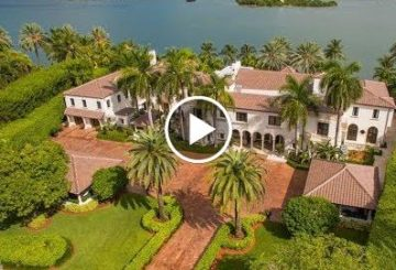 Iconic $65 Million 20,000 S.Q F.T 10 Bedroom 10 Bathroom Mansion in Miami Beach Florida USA