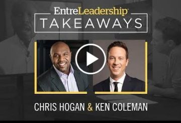 Are You Too Comfortable? |  Hoghan | EntreLeadership Takeaways