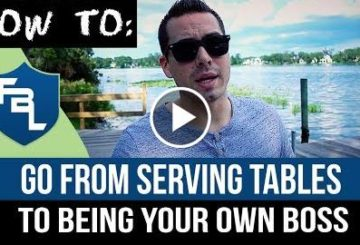 How To Go From Serving Tables To Being Your Own BOSS – Become A Remote Worker