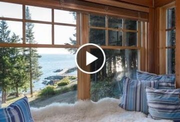 Serene & Exclusive $11 Million 4 Bed 5 Bath Waterfront Home on 23 Acres in British Columbia Canada