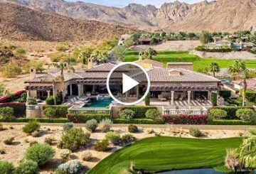 Breathtaking $3 Million 7,500 SQ FT 4 Bed 7 Bath Golf Estate in La Quinta California USA