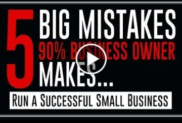 5 Big  90%  Owners  – How to Fix/Run a SUCCESS  !!
