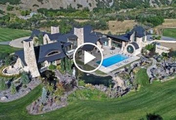 Incredible $19 Million 23,000 S.Q F.T 6 Bed 7 Bath Home on 30 Acres in Utah USA